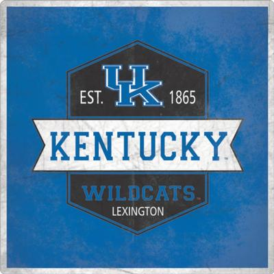 Kentucky Wildcats Vintage Decal 4