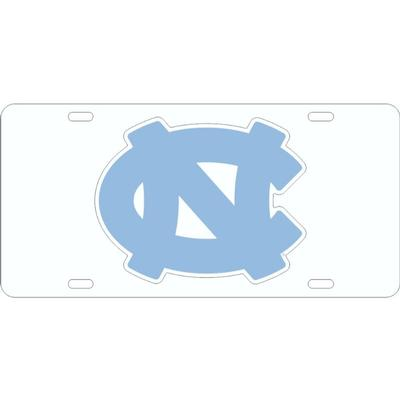 UNC Acrylic Primary Logo License Plate
