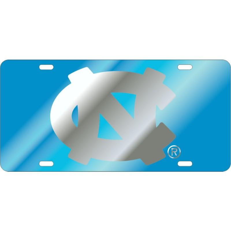 Unc Blue Nc Logo License Plate