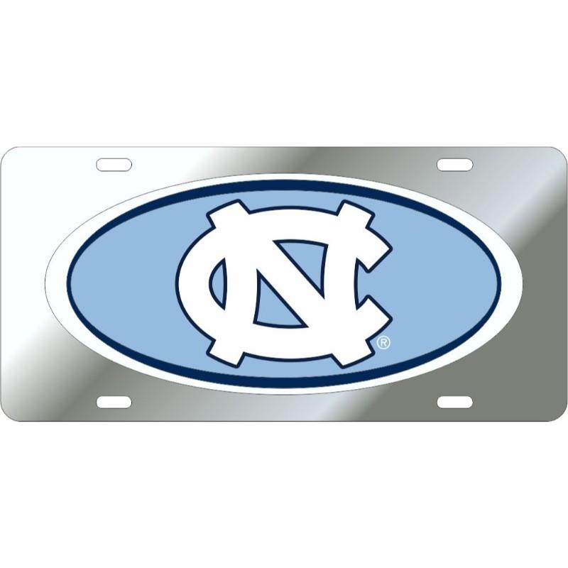 Unc Domed License Plate