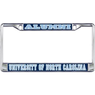 UNC Alumni License Plate Frame