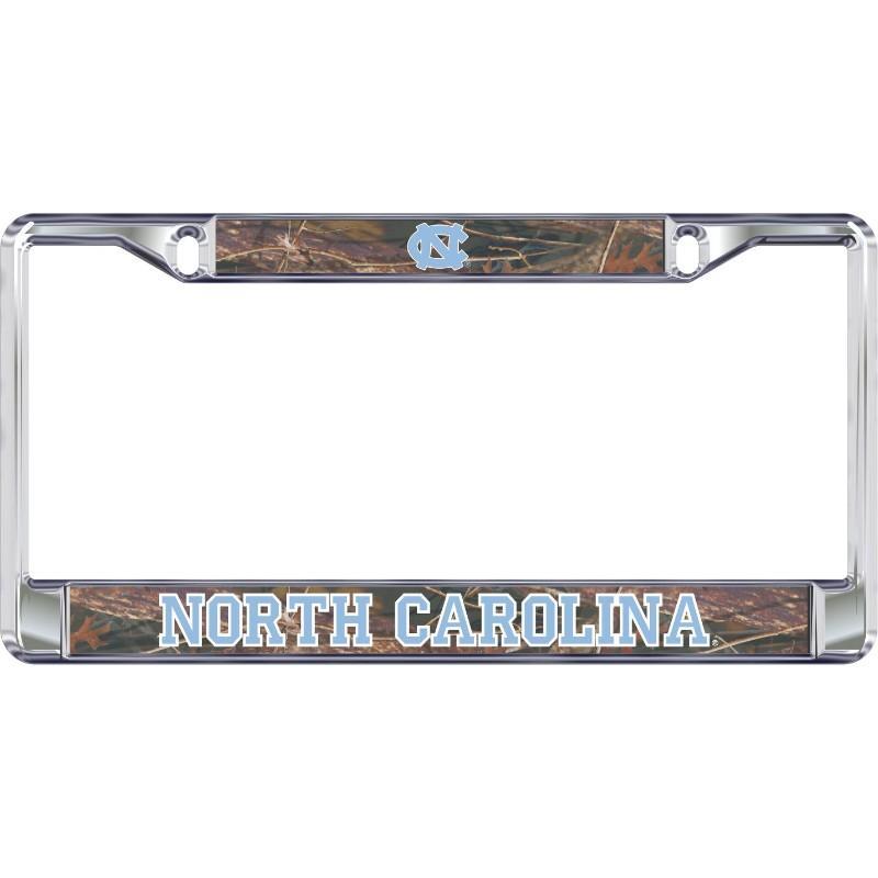 Unc Camo License Plate Frame