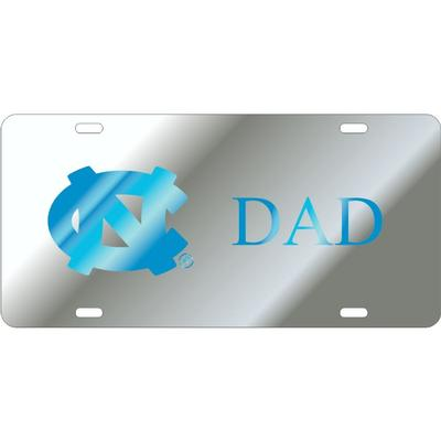 UNC Primary Logo Dad License Plate