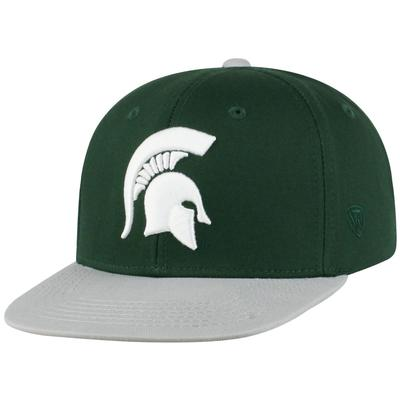 Michigan State Top of the World Youth Maverick Flatbrim Hat