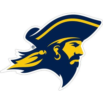ETSU Buccaneer Head Decal 12