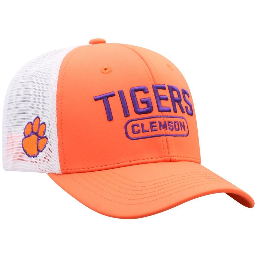 Clemson Notch 3d Logo Mesh Back Hat