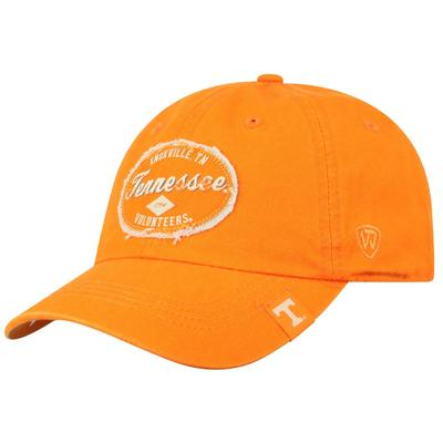 Tennessee Top of the World Tattered Patch Crew Hat