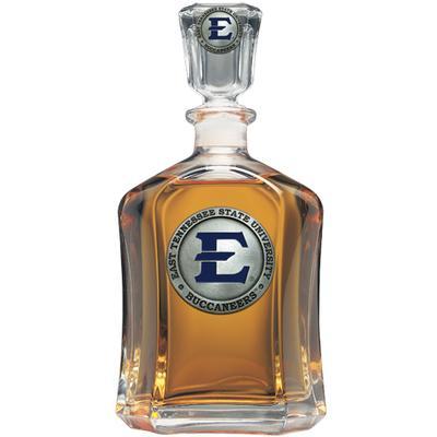ETSU Heritage Pewter Capitol Decanter (Blue Emblem)