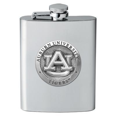 Auburn Heritage Pewter Flask