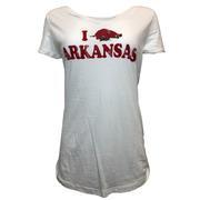 Arkansas Retro Brand Women's Megan Top