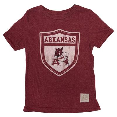 Arkansas Retro Brand Youth Vault Tee