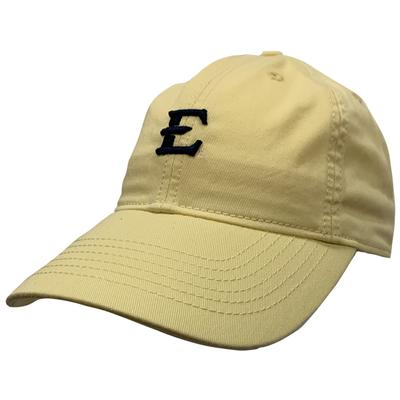 ETSU Legacy Mini Logo Twill Cap LEMON