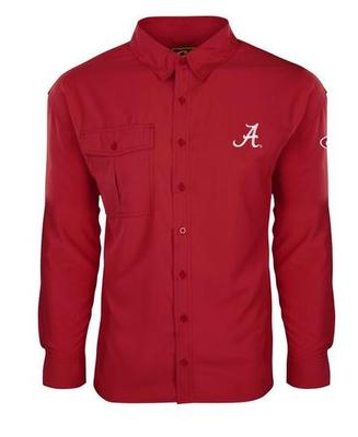 Alabama Drake Flyweight Long Sleeve Button Down Shirt