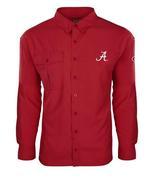 Alabama Drake Flyweight Long Sleeve Button Down Shirt