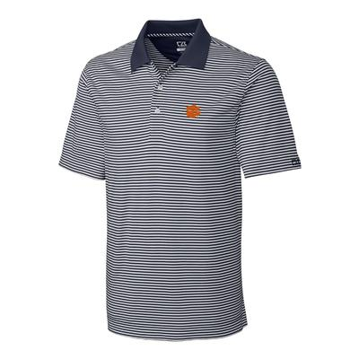 ***Custom Order*** Clemson Cutter And Buck Big And Tall Trevor Stripe Polo