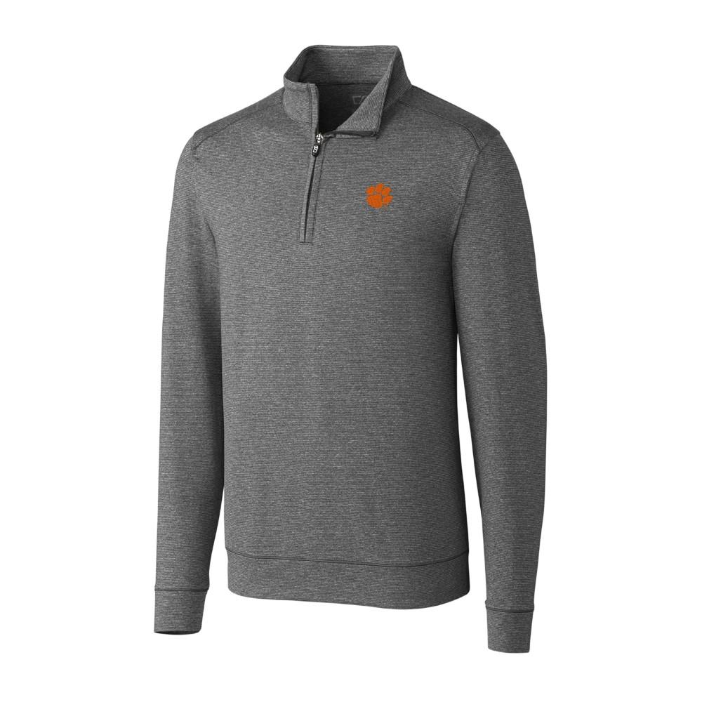 *** Custom Order *** Clemson Cutter And Buck Big And Tall Shoreline Half Zip Pullover