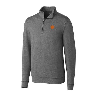 ***Custom Order*** Clemson Cutter And Buck Big And Tall Shoreline Half Zip Pullover