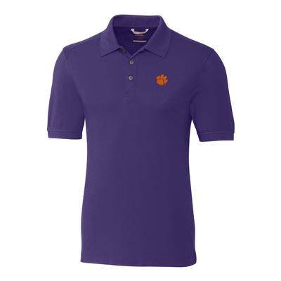***Custom Order*** Clemson Cutter And Buck Big And Tall Advantage Polo