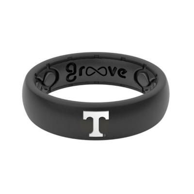Tennessee Power T Groove Ring (Thin)