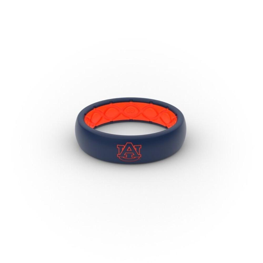 Auburn Tigers Groove Ring (Thin)