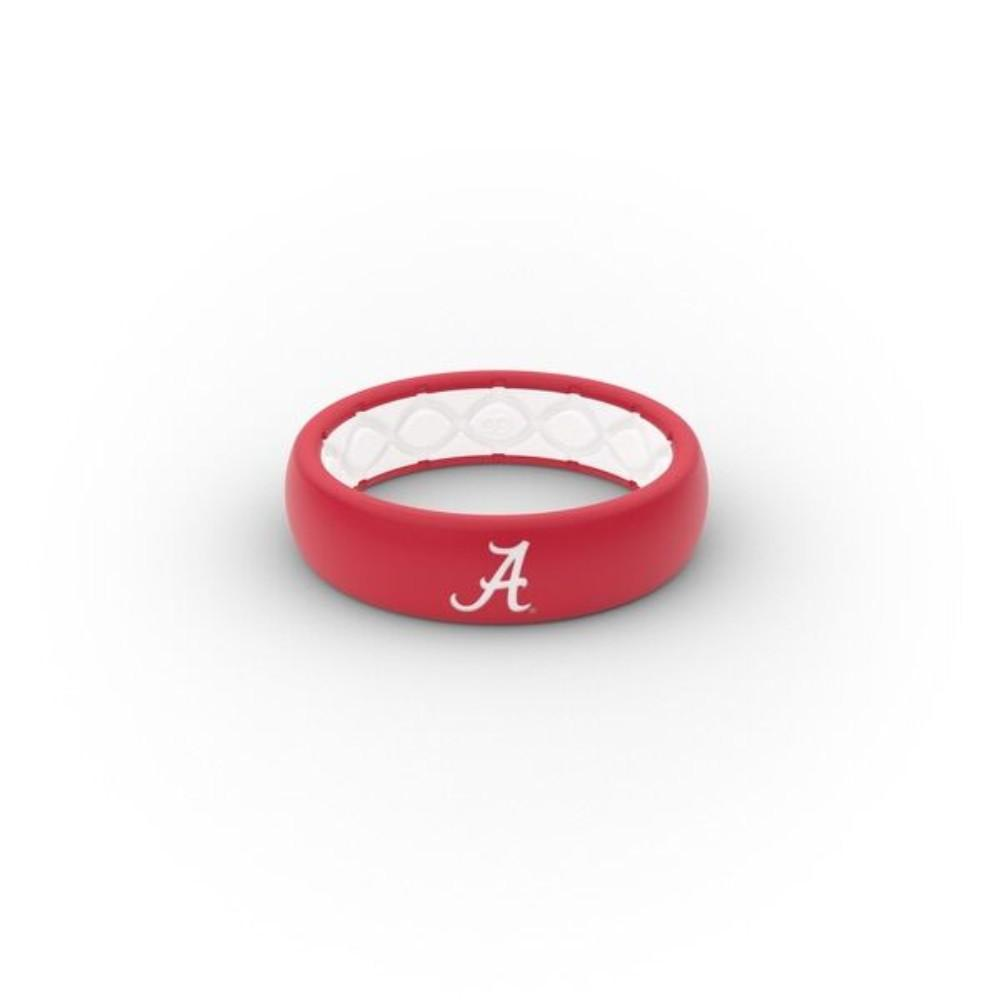 Alabama Script A Groove Ring (Thin)