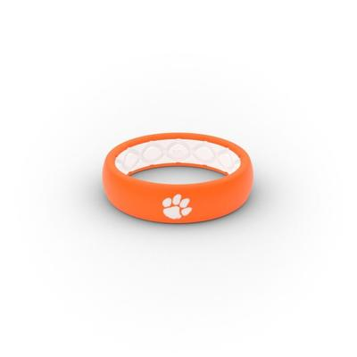 Clemson Tigers Groove Ring (Thin)