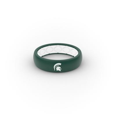 Michigan State Spartans Groove Ring (Thin)
