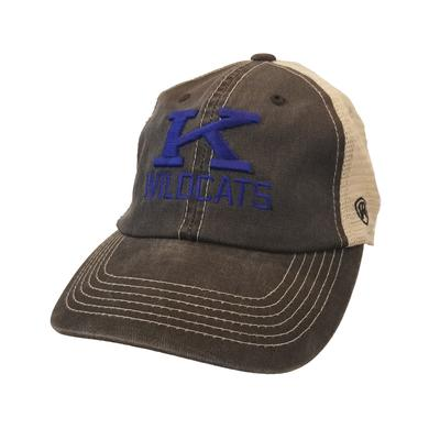 Kentucky Vault K Dirty Mesh Trucker Hat