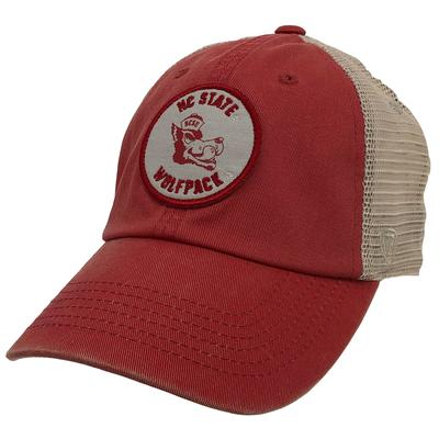NC State Patch Mesh Trucker Hat