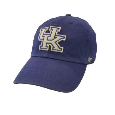 Kentucky 47' Raised Logo Adjustable Cap