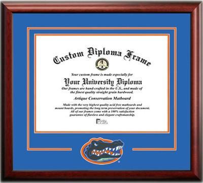 Florida Legacy Logo Diploma Frame