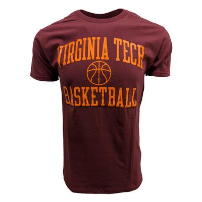 Virginia Tech Basic Basketball T-Shirt