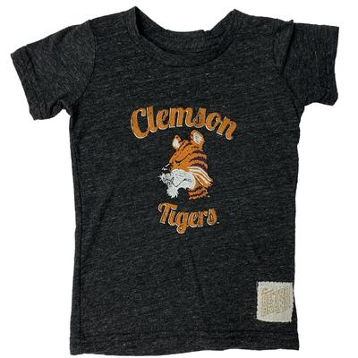 Clemson Retro Brand Toddler Vintage Tiger Script Tee