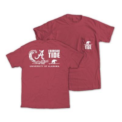 Alabama Surfs Up Comfort Colors T-Shirt