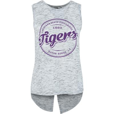 LSU Pressbox Women's Mickey Viscose Fly Away Tank