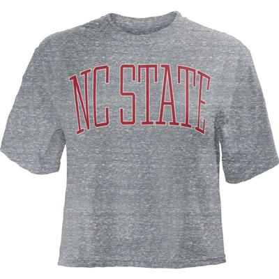 NC State Pressbox Women's Bell Lap Crop Top