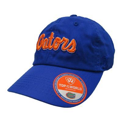 Florida Gators Script Adjustable Hat
