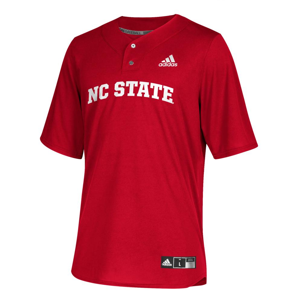 Nc State Adidas Youth Diamond King Elite Baseball Jersey