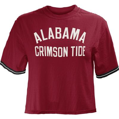 Alabama Pressbox Women's Lynn Crop Top