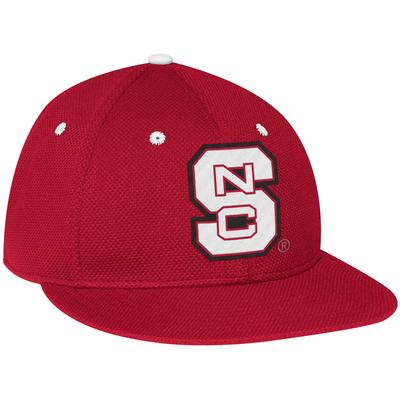 NC State Adidas On The Field Baseball Hat