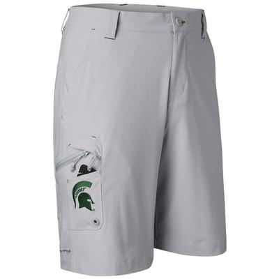 Michigan State Columbia Terminal Tackle Shorts