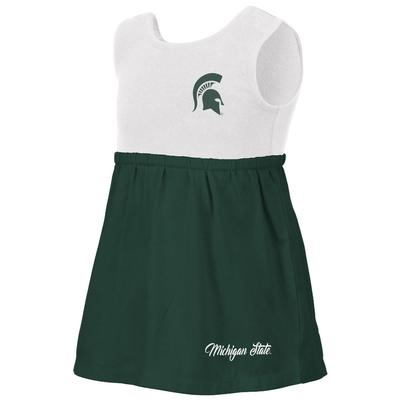 Michigan State Colosseum Toddler Berlin Dress