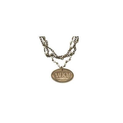 Western Kentucky Legacy Bronze Pearl Necklace