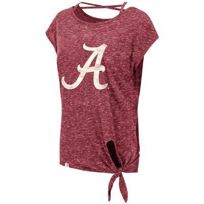 Alabama Colosseum Women's Como Tie Top