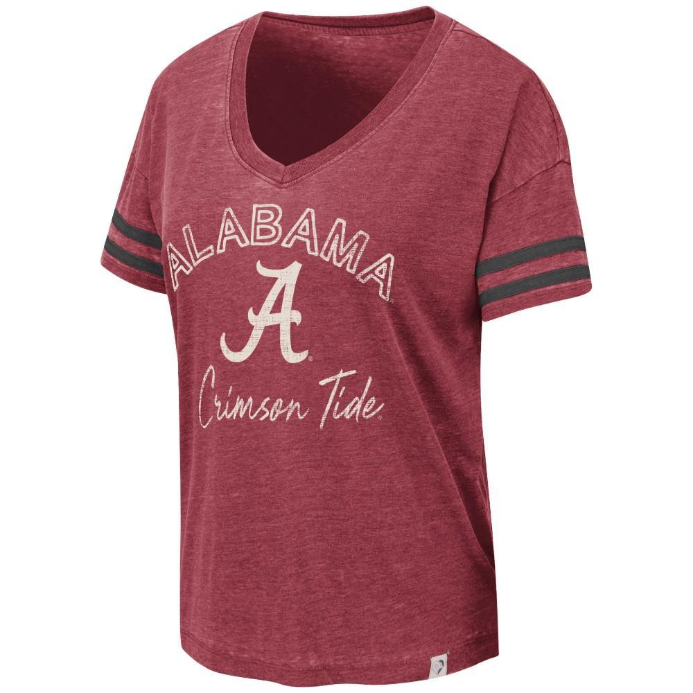 Alabama Colosseum Women's Savona V Neck Tee