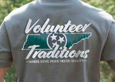 Volunteer Traditions Tri-Star State Short Sleeve Tee