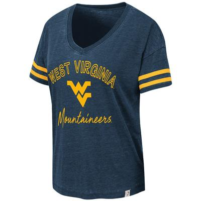 West Virginia Colosseum Women's Savona V Neck Tee