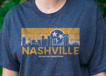 Volunteer Traditions Nashville Tri-Blend Short Sleeve Tee