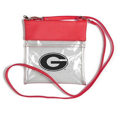 Georgia Clear Game Day Crossbody