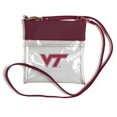 Virginia Tech Clear Game Day Crossbody